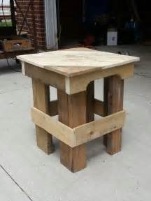 Canadian Woodworking Magazine Download by How To Make End Tables Out Of Pallets Quick Woodworking Projects
