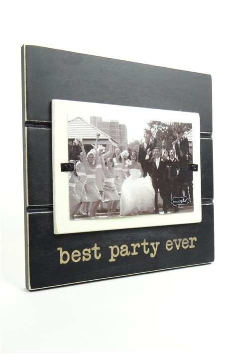 Mud Pie Wedding Best Party Ever Frame from Michigan by Let