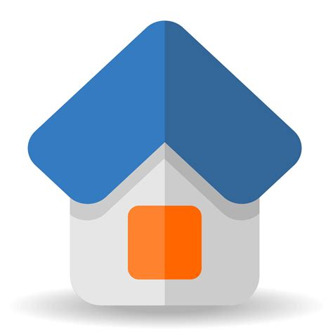 vector for free use 3d house icon vector for free use little house icon