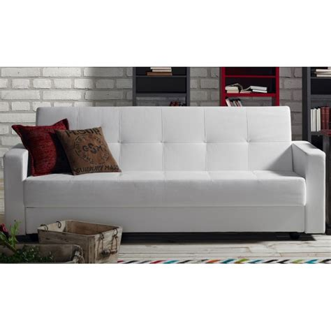 eco sofa bed rumba sofa bed container white eco leather azcontract