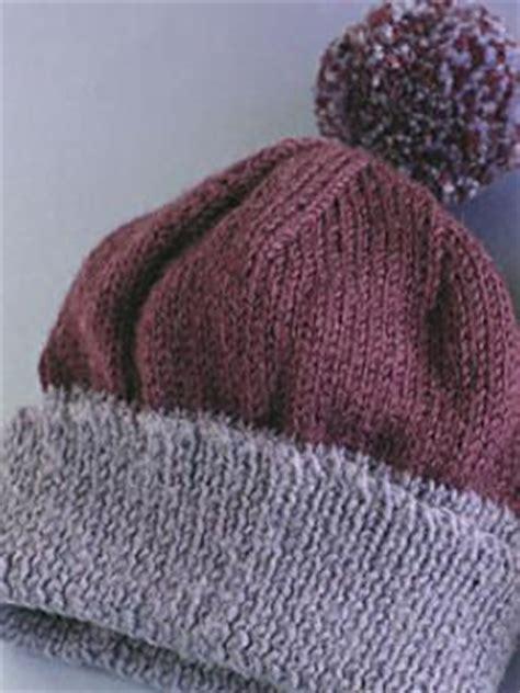 knitting pattern bobble hat bobble hats pattern knit rowan