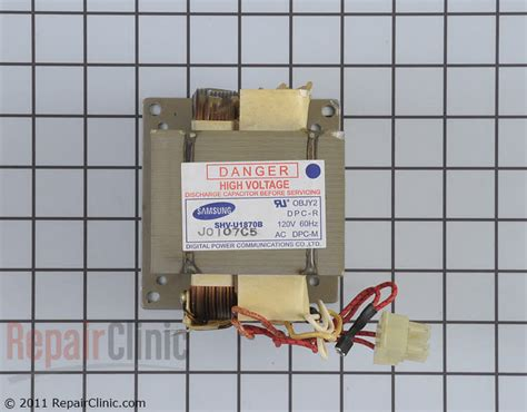 ge microwave capacitor discharge high voltage transformer wb27x10867 repairclinic