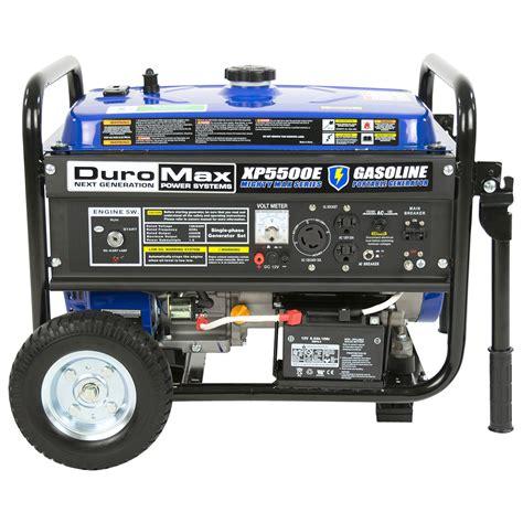 duromax xp5500e 5 500 watt 7 5 hp portable electric start