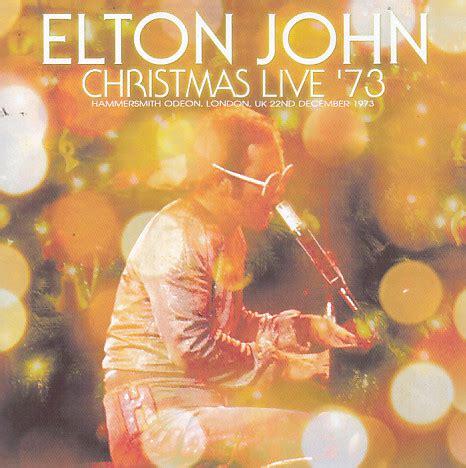 elton john christmas elton john christmas live 73 2pro cdr uxbridge 171
