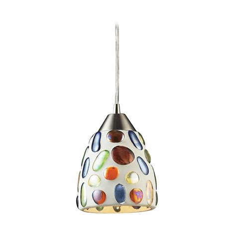 multi colored glass pendant lights modern mini pendant light with multi color glass 542 1