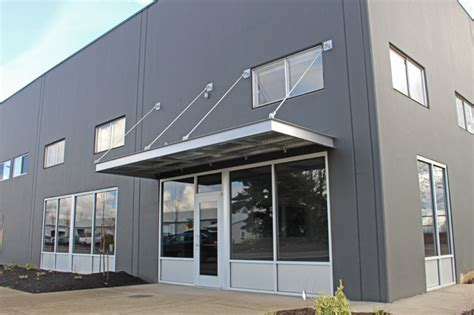 Commercial Metal Awnings by Metal Awning Commercial Signage Portland Pike Awning