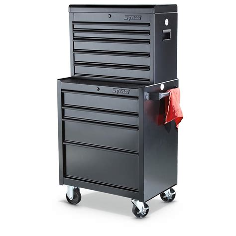 tool chest waterloo 26 quot tool chest combo 617978 ladders storage at sportsman s guide