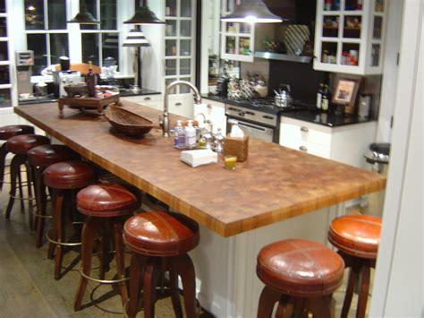 custom teak butcher block countertops in new york new york