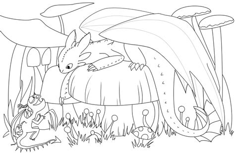 hiccup riding toothless coloring page coloring pages