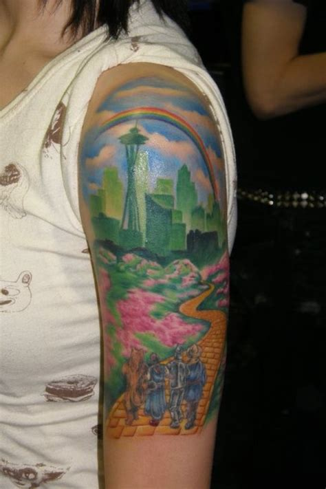 emerald city tattoo best 25 seattle ideas on