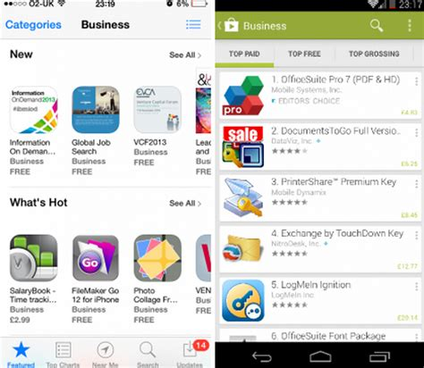 Play Store Vs App Store Which Is Better Ios Vs Android Which One Is Better