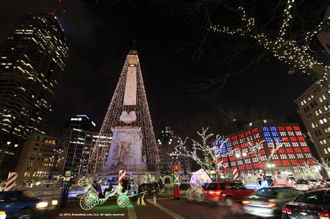 circle of lights indianapolis 2017 circle of lights celebration on monument circle nov 24