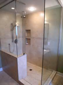 ideas for bathroom showers walk in shower ideas remodeling contractor talk