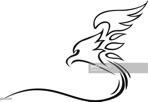 tattoo eagle vector eagle tattoo tribal vector art getty images