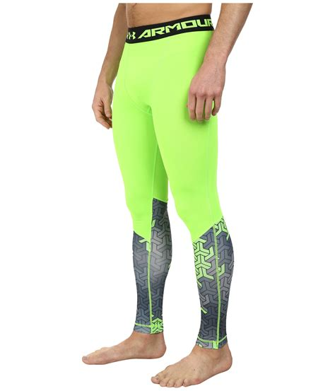 Celana Mens Legging Armour Black lyst armour ua army of 11 compression legging in green for