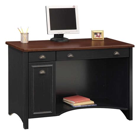 Computer Secretary Desk Home Office Black Desk