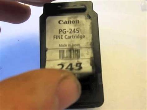 Canon Pixma Mg2570s Mg 2570s how to refill canon colour ink cartridge funnycat tv