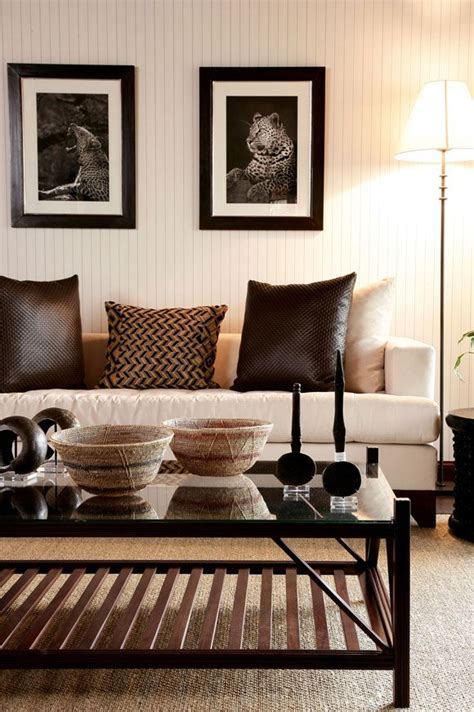 african living room decor tendance ethnique chic www mode and deco com
