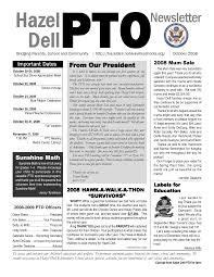 17 Best Images About Pto Newsletter On Pinterest Newsletter Templates Email Newsletters And Ffa Newsletter Templates