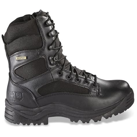 hq issue s waterproof side zip tactical boots 292023