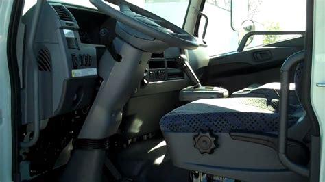 mitsubishi fuso interior mitsubishi fuso fe145 interior youtube