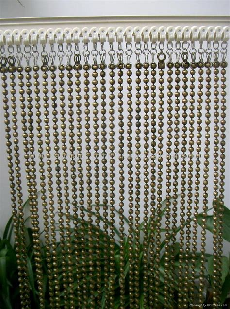 ball chain curtains antique brass faceted ball chain curtain tf 150 t f