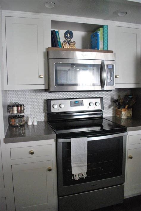 1000 ideas about microwave shelf on microwave