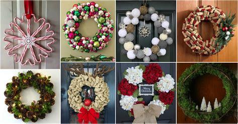amazing diy christmas wreaths   festive mood