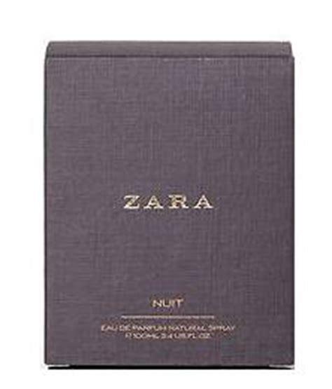 Parfum Zara Nuit fragrances for zara nuit fragrance for edt 100ml box not sealed slightly damaged