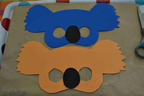 australian crafts for australia day koala masks with mudpies and