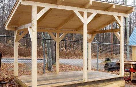 sloped roof shed plans plandsgcom