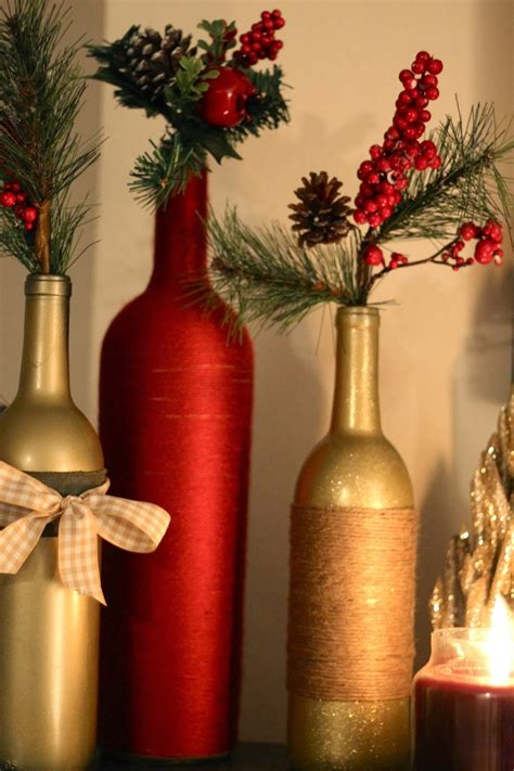 wine bottle l diy diy holiday wine bottles pretty in the pines north