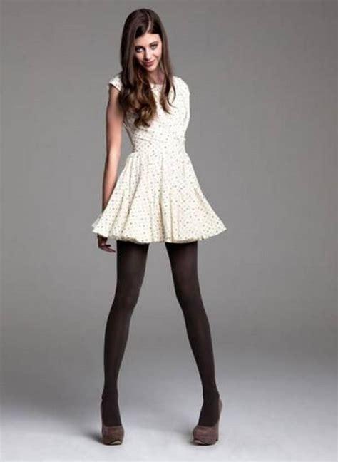 Skirt Legging Black striped skater dress dress ideas