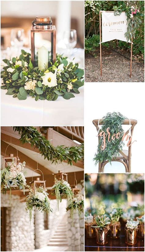 25 best ideas about copper wedding decor on copper wedding simple wedding