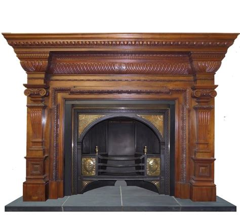 Century Fireplace Insert by 19th Century Georgian Hob Grate Brass Cast Iron