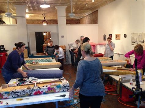 upholstery classes raleigh nc spruce upholstery book tour stops north carolina