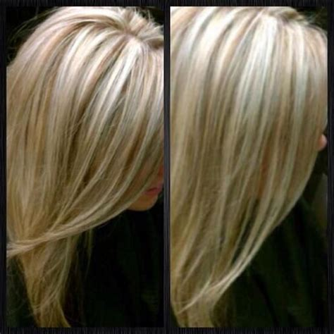 lowlights in white hair hair love pinterest wit haar platinum blonde lowlights hairstyles and beauty tips