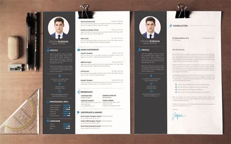 modern layout the best cv resume templates 50 exles design shack