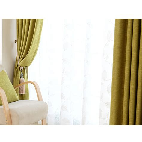 Discount Cotton Linen Blend Green Nursery Curtains Green Nursery Curtains