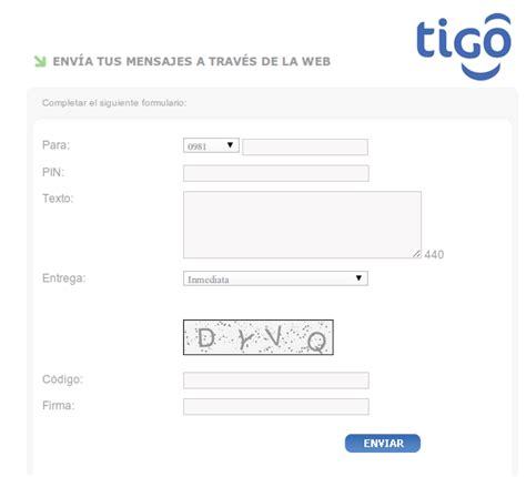enviar mensajes tigo mandar mensajes gratis a claro paraguay enviar mensajes