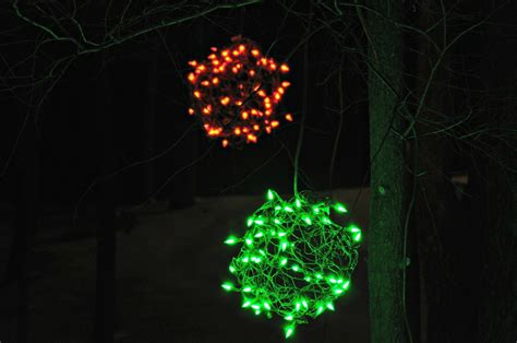 large outdoor christmas light balls lighted christmas balls outdoor lights 2013 decor and