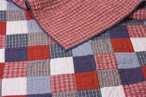 Boys Patchwork Quilts - childrens bed linen from linen lace and patchwork