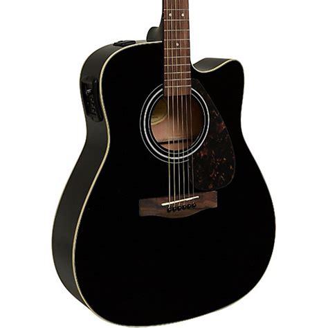 Gitar Akustik Elektrik Yamaha 6 yamaha fx335c dreadnought acoustic electric guitar black