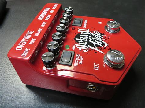 Jackyl Hyde Overdrive Distortion visual sound jekyll hyde version 2 overdrive and reverb