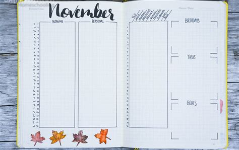 bullet journal monthly printable 5 creative monthly spread ideas for your bullet journal