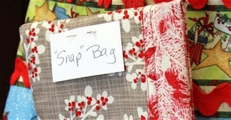 Where Can I Buy A Snap On Gift Card - fabric mill gift idea snap bags