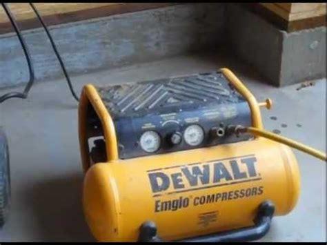dewalt d55146 air compressor review