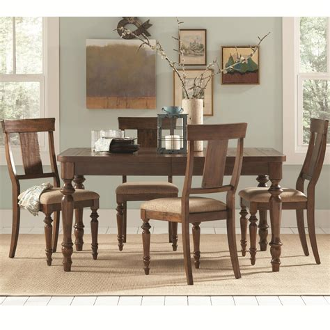 coaster 104721 brown wood dining table a sofa