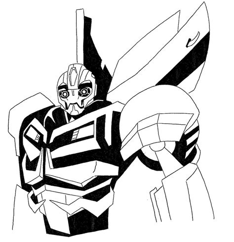 transformer bumblebee coloring pages free az