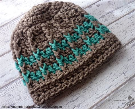 pattern crochet beanie mamma that makes michael beanie free crochet pattern